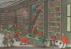 Bibliotheca Buloviana (Ausschnitt) / Georg Daniel Heumann / Public Domain