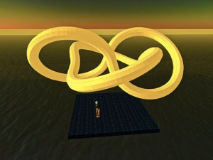 Ideal Knot final rendering / Matt Biddulph / CC BY-SA